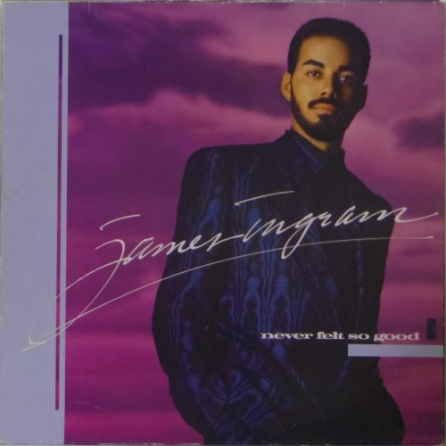 James Ingram<br>Never Felt So Good<br>LP
