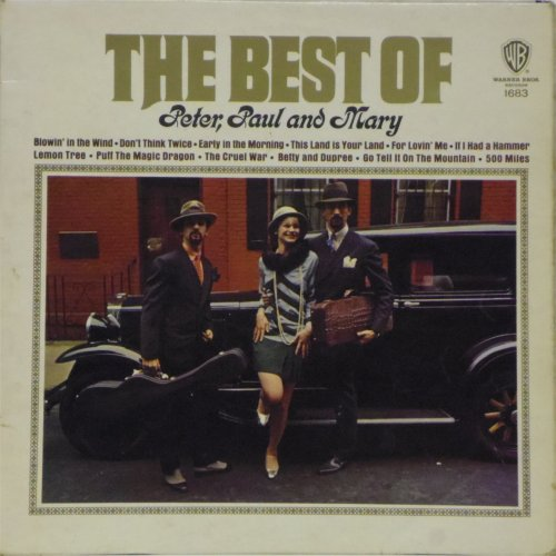 Peter Paul & Mary<br>The Best of<br>LP