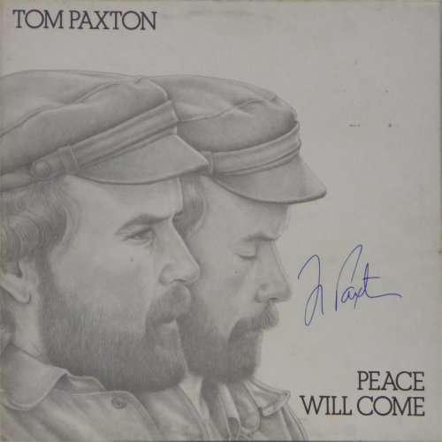 Tom Paxton<br>Peace Will Come<br>LP