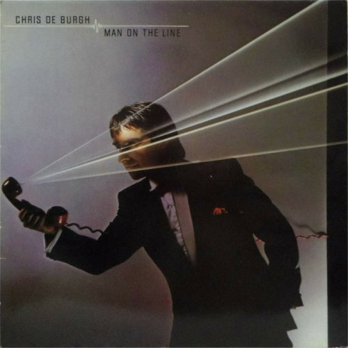 Chris De Burgh<br>Man on The Line<br>LP