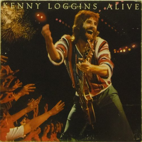 Kenny Loggins<br>Alive<br>Double LP