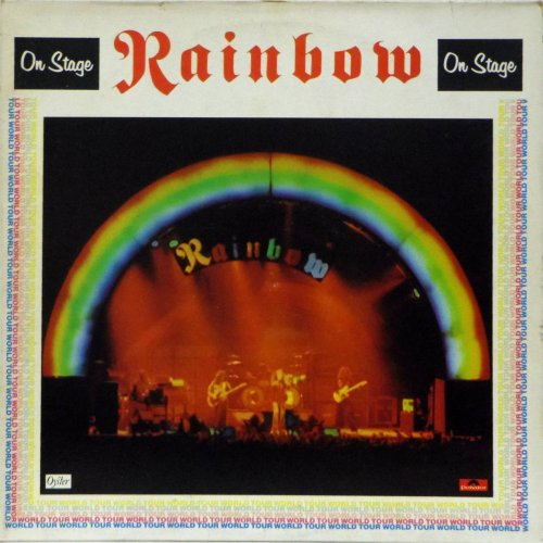Rainbow<br>On Stage<br>Double LP (UK pressing)