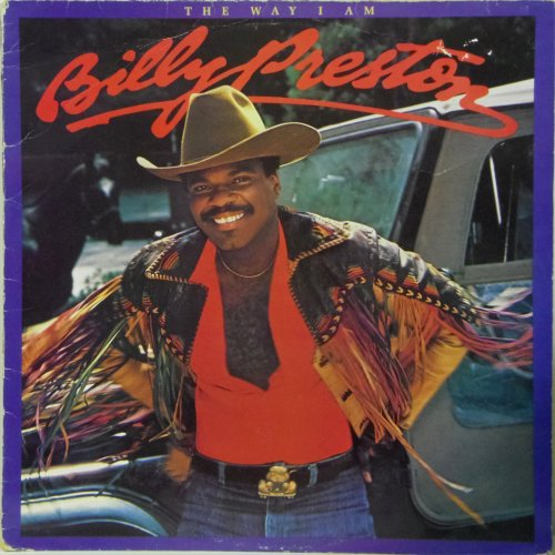 Billy Preston<br>The Way I Am<br>LP