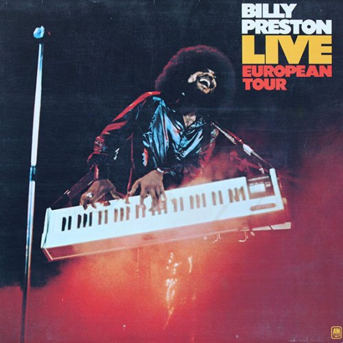 Billy Preston<br>Live European Tour<br>LP