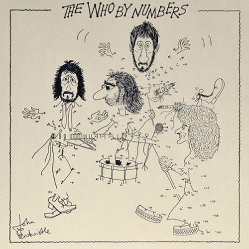 The Who<br>The Who By Numbers<br>(New re-issue)<br>LP