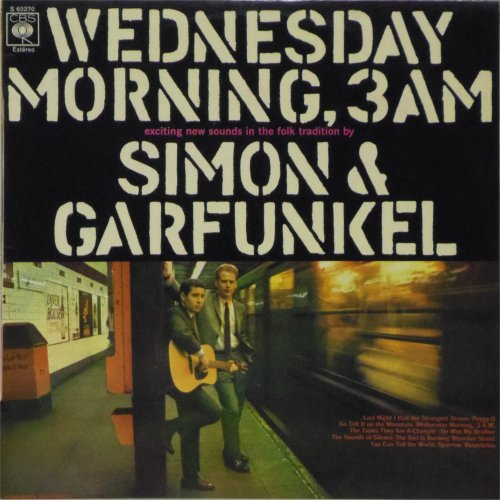 Simon & Garfunkel<br>Wednesday Morning 3 AM<br>LP (Spanish pressing)