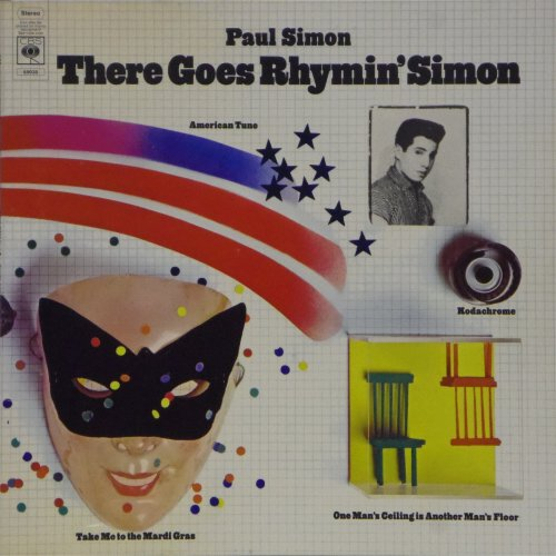 Paul Simon<br>There Goes Rhymin' Simon<br>LP