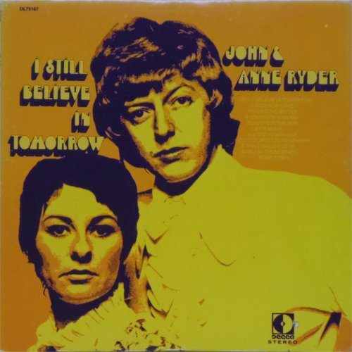 John & Anne Ryder<br>I Still Believe In Tomorrow<br>LP