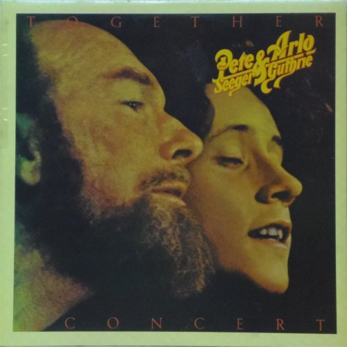 Pete Seeger & Arlo Guthrie<br>Together In Concert<br>Double LP