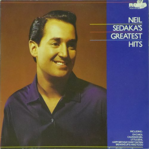 Neil Sedaka<br>Greatest Hits<br>LP