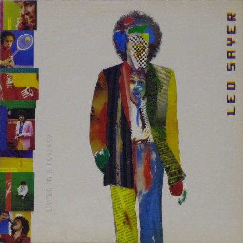 Leo Sayer<br>Living In A Fantasy<br>LP