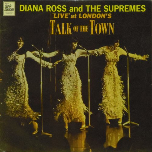 Diana Ross & The Supremes<br>Live at The Talk of The Town<br>LP
