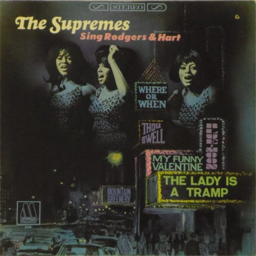 The Supremes<br>Sing Rodgers & Hart<br>LP