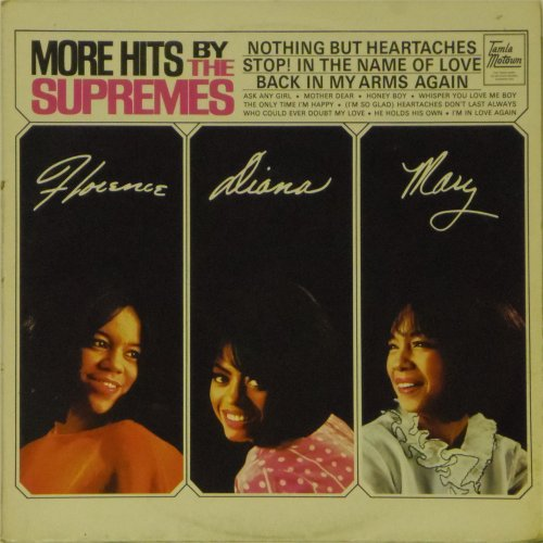 The Supremes<br>More Hits By The Supremes<br>LP