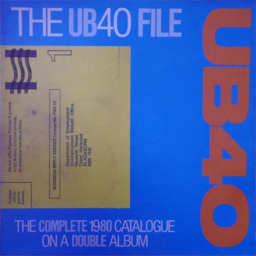 UB40<br>The UB40 File<br>Double LP