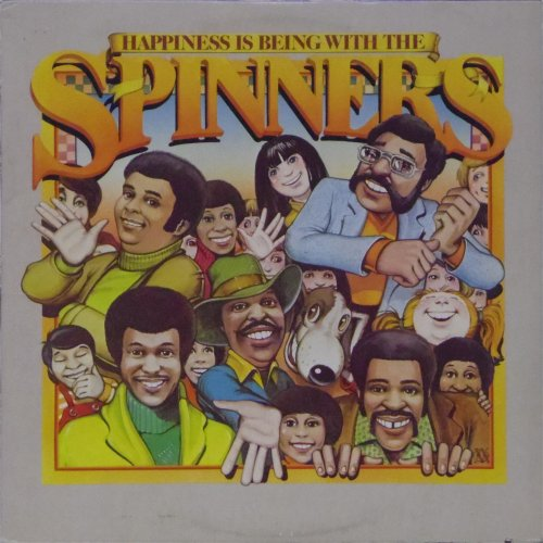 Spinners<br>Happiness is Being With The Spinners<br>LP