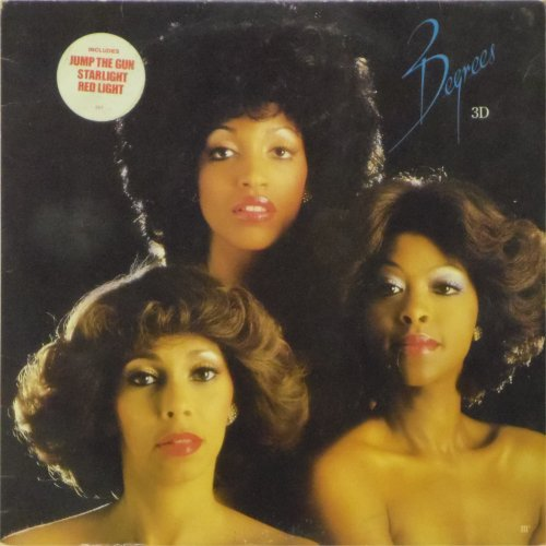 The Three Degrees<br>3D<br>LP
