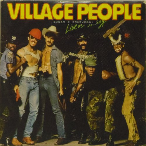 Village People<br>Live and Sleazy<br>Double LP