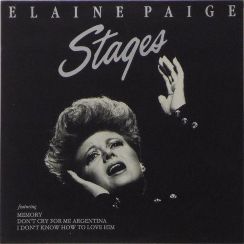 Elaine Paige<br>Stages<br>LP