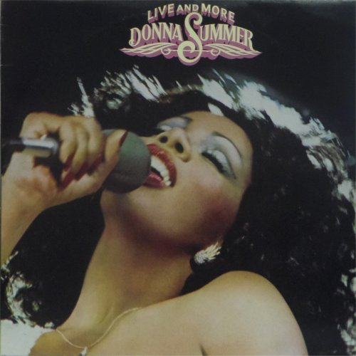 Donna Summer<br>Live And More<br>Double LP