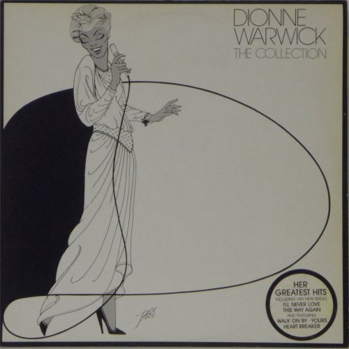 Dionne Warwick<br>The Collection<br>Double LP