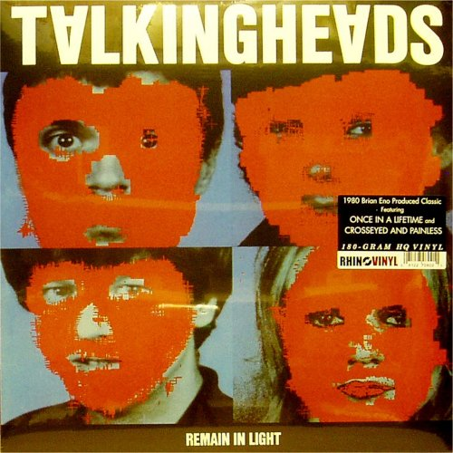 Talking Heads<br>Remain In Light<br>(New 180 gram re-issue)<br>LP