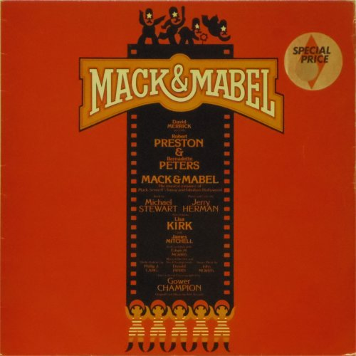 Original Stage Show<br>Mack and Mabel<br>LP
