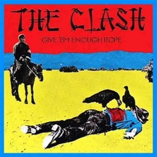 The Clash<br>Give Em Enough Rope<br>(New 180 gram re-issue)<br>LP
