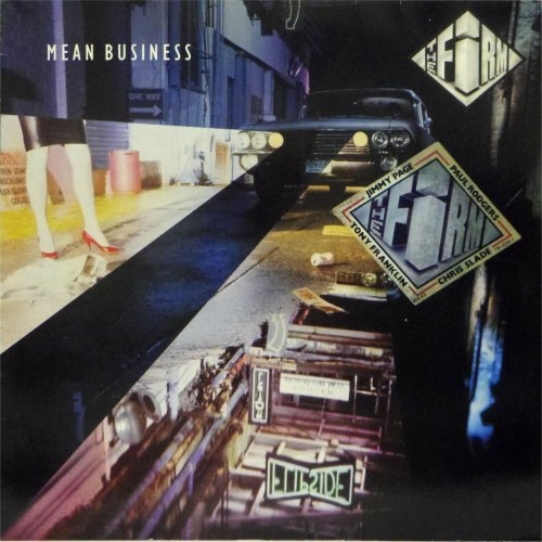 The Firm<br>Mean Business<br>LP (GERMAN pressing)