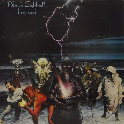 Black Sabbath<br>Live Evil<br>Double LP