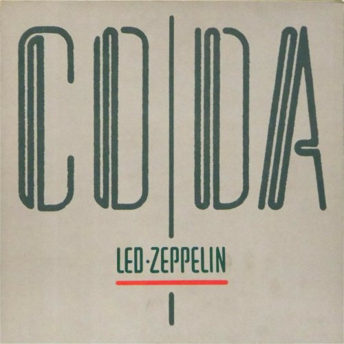 Led Zeppelin<br>CODA<br>LP (GERMAN pressing)