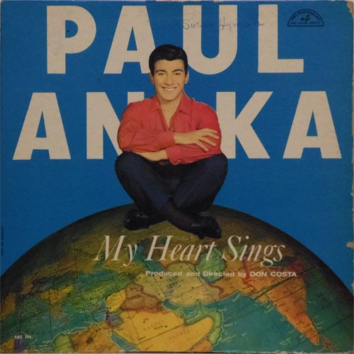 Paul Anka<BR>My Heart Sings<br>LP