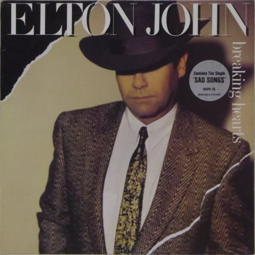 Elton John<br>Breaking Hearts<br>LP