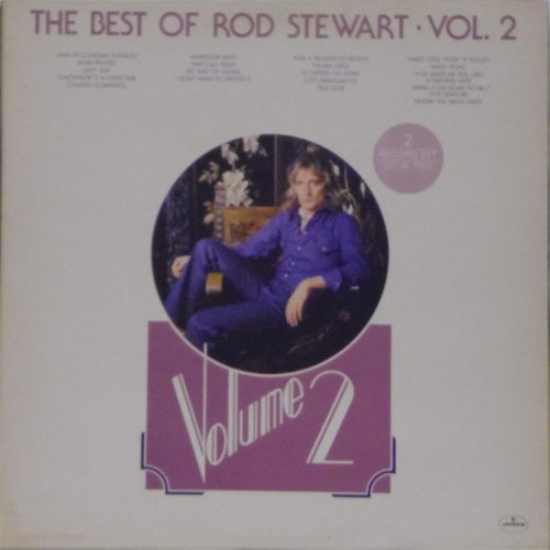 Rod Stewart<br>The Best of Rod Stewart Volume 2<br>Double LP