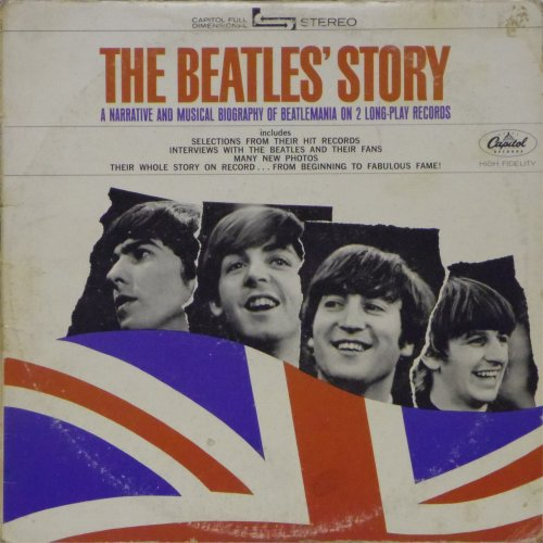 The Beatles<br>The Beatles' Story<br>Double LP
