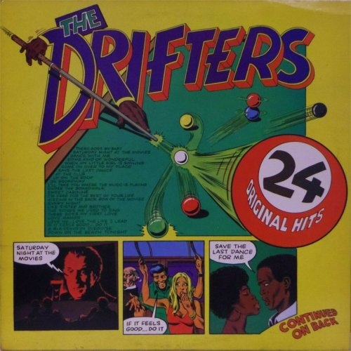 The Drifters<br>24 Original Hits<br>Double LP