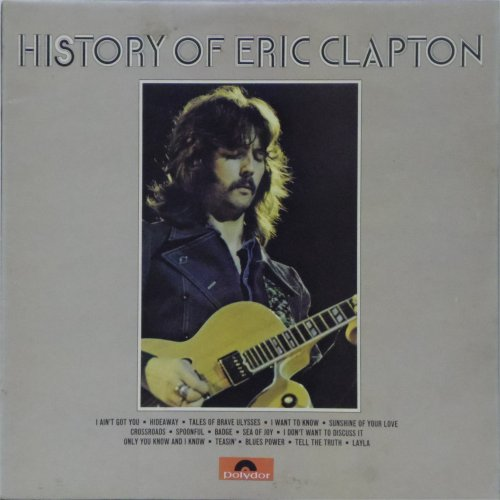 Eric Clapton<br>History of Eric Clapton<br>Double LP