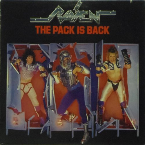 Raven<br>The Pack Is Back<br>LP