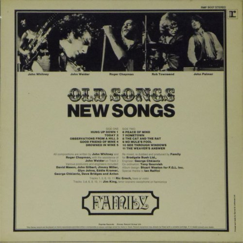 Family<br>Old Songs New Songs<br>LP