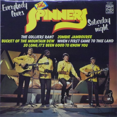 The Spinners<br>Everybody Loves Saturday Night<br>LP