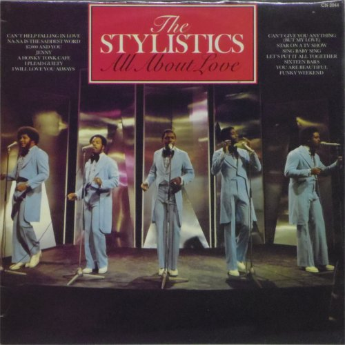 The Stylistics<br>All About Love<br>LP
