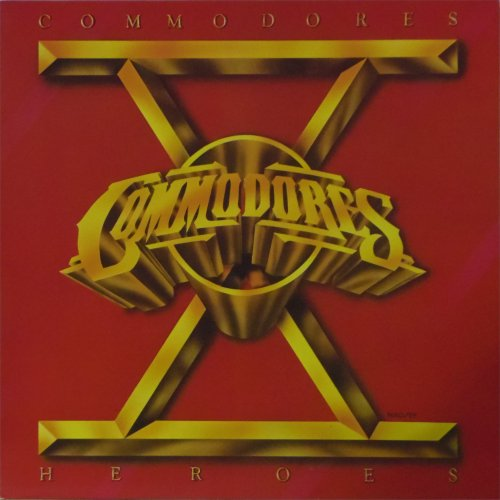 The Commodores<br>Heroes<br>LP