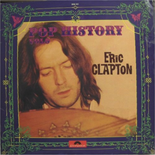 Eric Clapton<br>Pop History Volume 9<br>Double LP