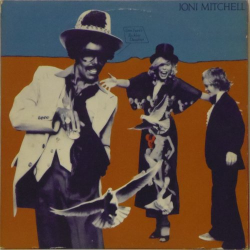 Joni Mitchell<br>Don Juan's Reckless Daughter<br>Double LP