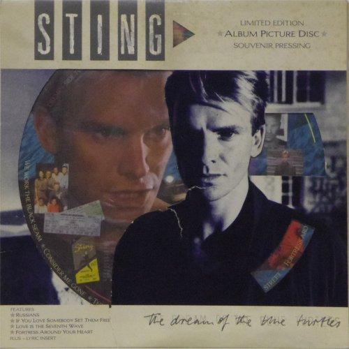 Sting<br>The Dream of The Blue Turtles<br>Picture Disc LP