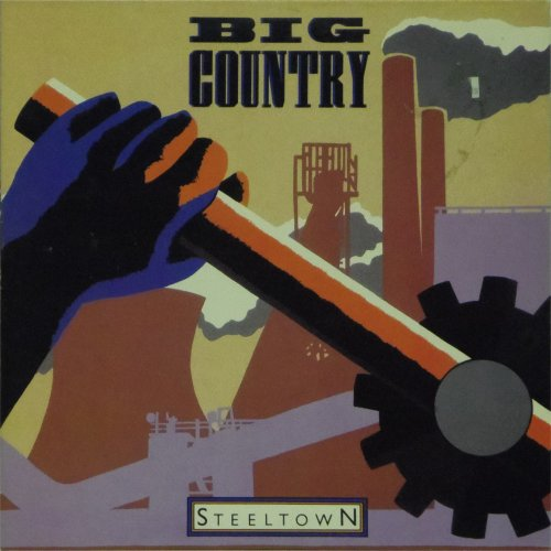 Big Country<BR>Steeltown<br>LP