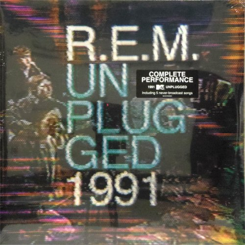 REM<br>Unplugged 1991<br>Double LP