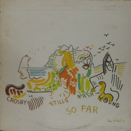 CSNY<br>So Far<br>LP