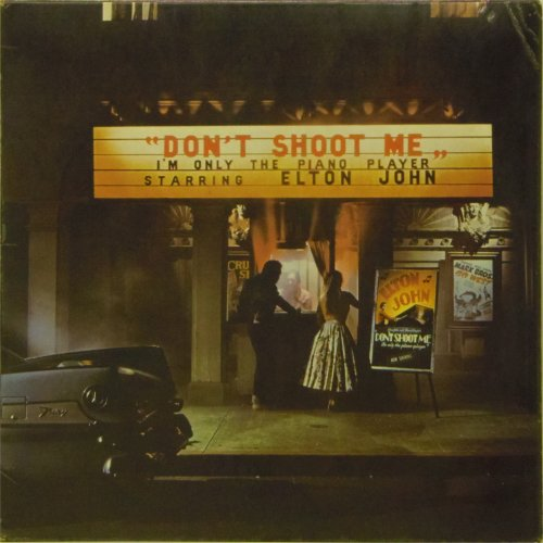 Elton John<br>Don't Shoot Me I'm Only The Piano Player<br>LP