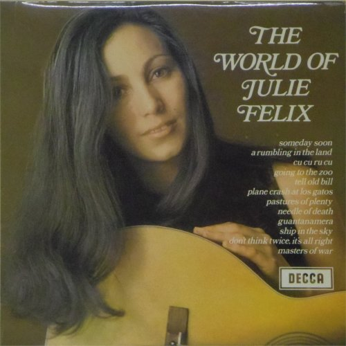 Julie Felix<br>The World of Julie Felix<br>LP
